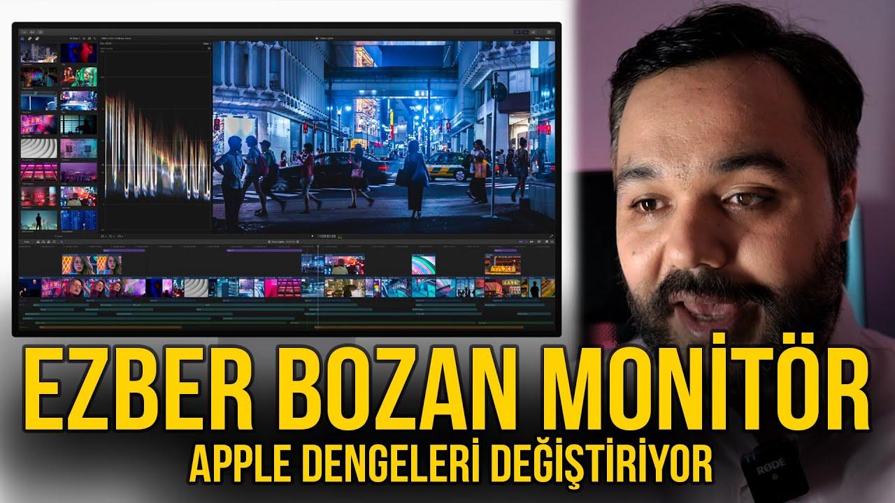 Apple'ın monitör devrimi | Bilgisayarı hızlandıran monitörler geliyor