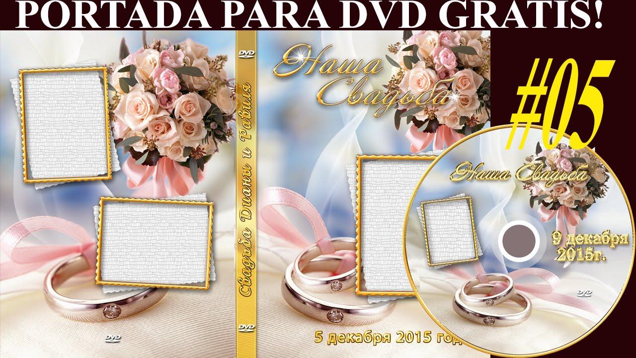 Plantillas psd ANILLO y ROSAS para crear portada DVD - Plantillas ...