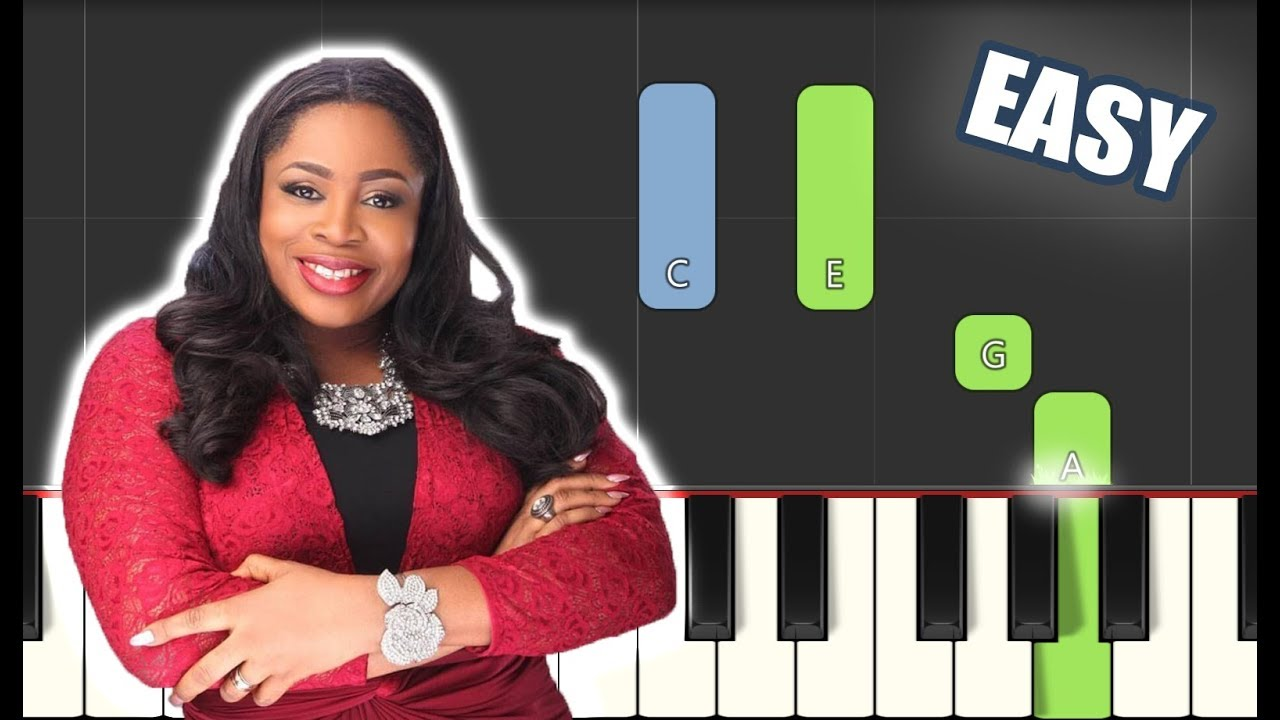 Way Maker Sinach Easy Piano Tutorial Sheet Music By Betacustic