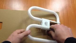 видео Энергосберегающая лампа MR-16 в комплекте с балластом