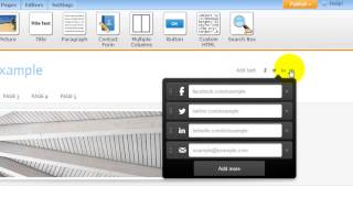 How to Set up Weebly Social Icons & buttons (by www.WebsiteBuilderExpert.com)