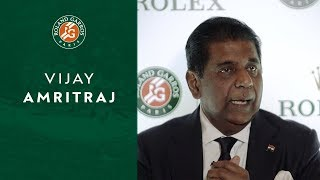 Vijay Amritraj - From Chennai to Paris... Roland Garros 2019