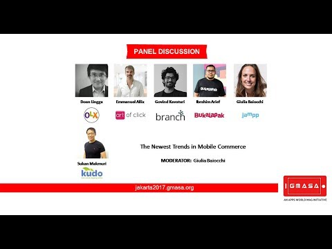 GMASA'17 Jakarta: Panel Discussion - The Newest Trends in Mobile Commerce