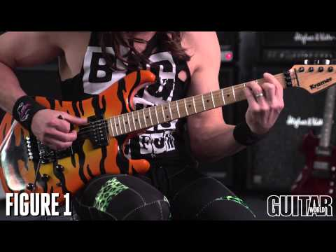 """Steel Panther's """"Weenie Ride"""" solo lesson with Satchel!"""