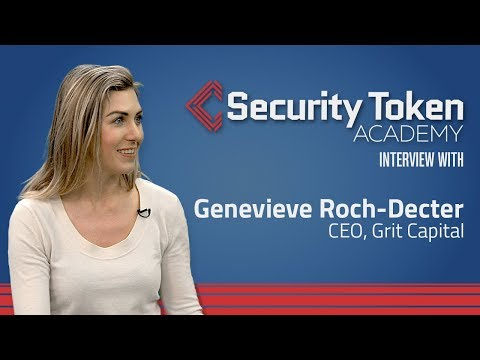 Grit Capital CEO Genevieve Roch-Decter's Prediction for STOs in 2018