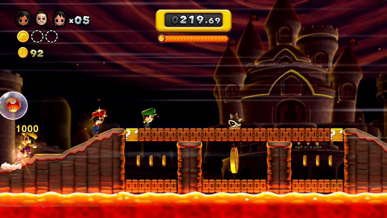 New Super Mario Bros U Gameplay On Boost Mode Hd Youtube