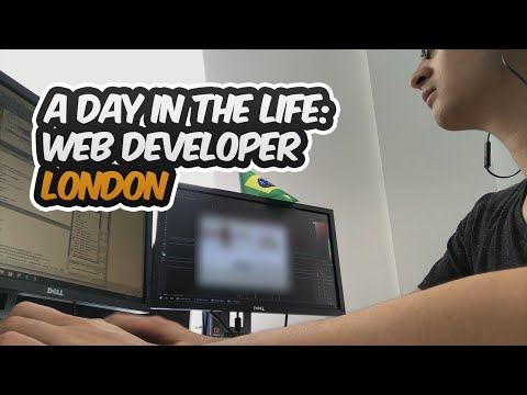 A Day in the Life of a Web Developer in London