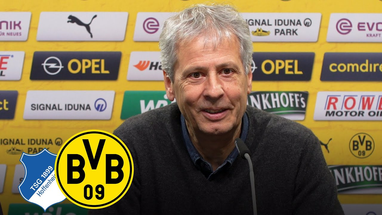 Pressekonferenz mit Lucien Favre & Michael Zorc | TSG Hoffenheim - BVB