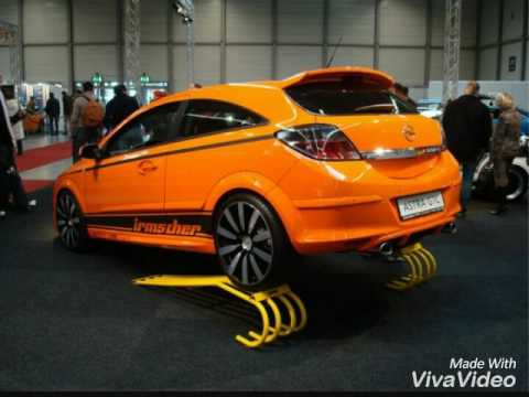 opel astra h gtc tuning youtube