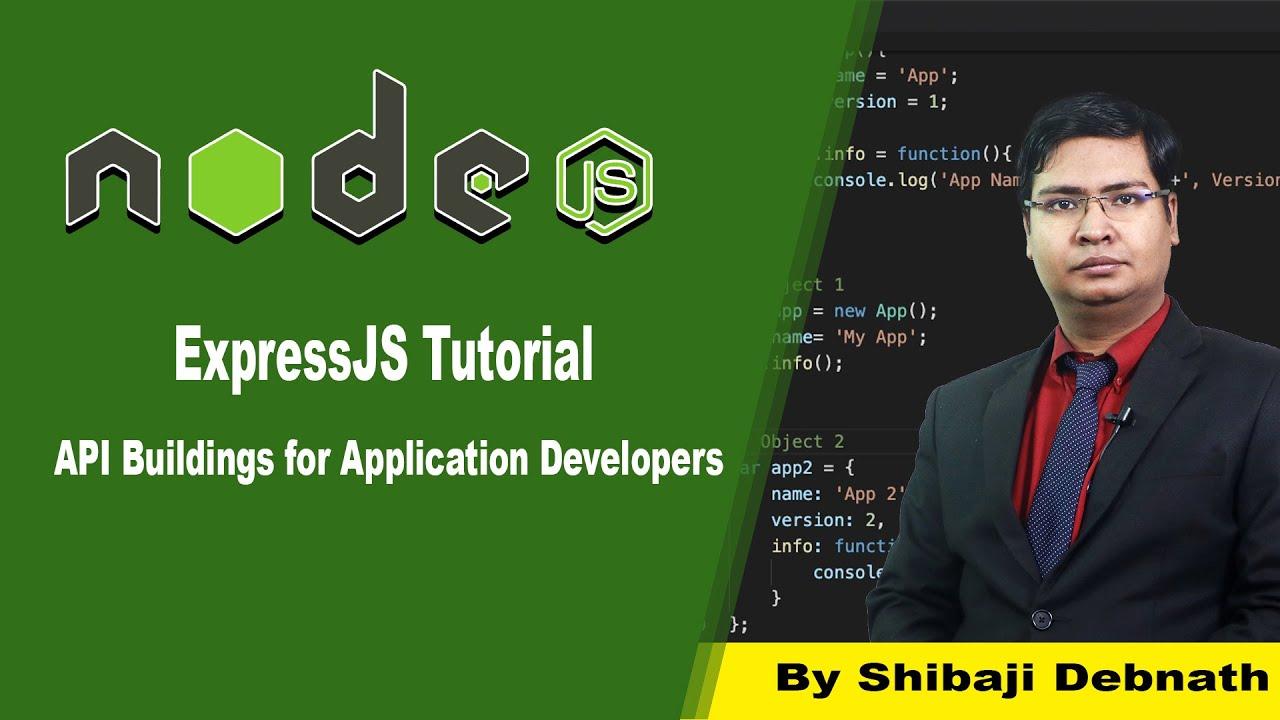 [Hindi] Express.js Tutorial: Build RESTful APIs with Node and Express - Part 1