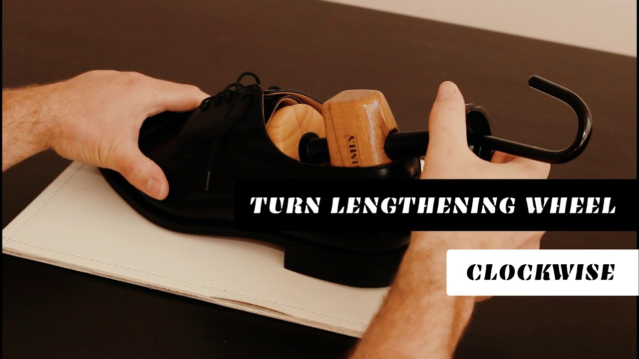 bfbd9cdfc4585 How To Use Your Two-Way Shoe Stretcher - YouTube