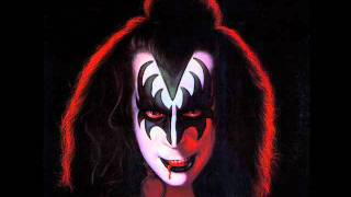 Kiss - Gene Simmons (1978) - Burning Up With Fever