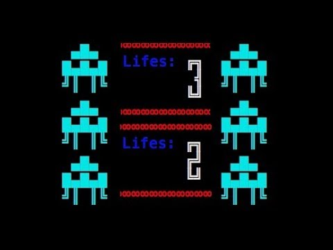 Space Invaders Clone Tutorial Part 17b - Life lost