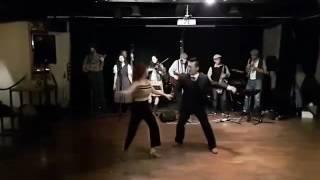 Taipei Swing Dance Camp 2016.12.30 Instructors Demo, Jeongwoo & Crystal