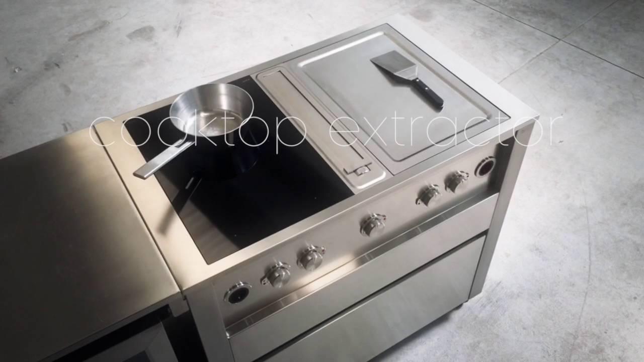 jokodomus cooking station with bora professional youtube. Black Bedroom Furniture Sets. Home Design Ideas