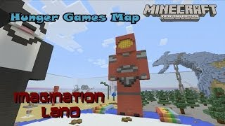 Minecraft Xbox 360: Imagination Land: Hunger Games by F3AR x EXTREMEZ (Download Available)