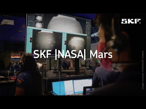 SKF Bearings help NASA's Perseverance Rover collect rock & regolith samples on the surface of Mars