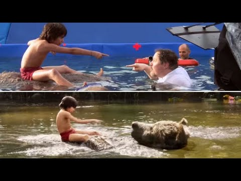 Making of The JungleBook.Behind the scenes and VFx CGI