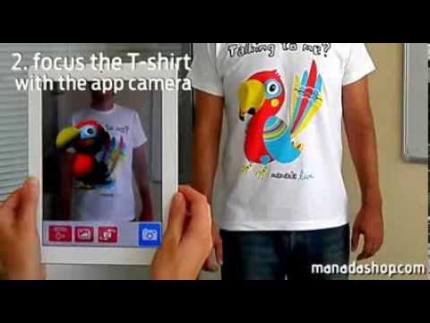 Manada Live - Pepe Parrot - Augmented Reality T-shirt