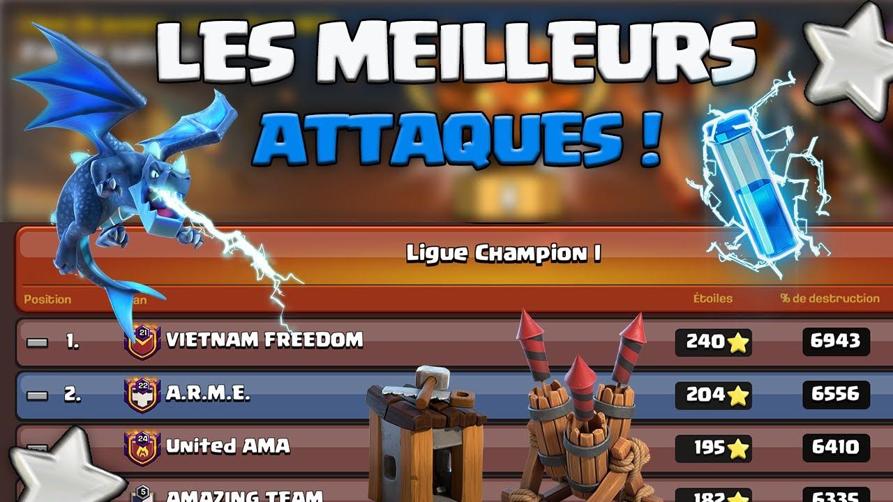 LES PLUS BELLES ATTAQUES DE LA LIGUE CHAMPION 1 !