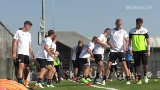 SK Sturm: Trainingsauftakt 2017/18