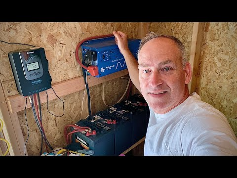 Off Grid Solar Power System Tour