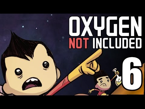 Oxygen Not Included (Pre-Release) 6:Contaminated air and water... Let's Play ONI Gameplay