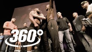 INTERACTIVE 360° EXPERIENCE |  Cormier vs. Jones Faceoff | UFC 214 Weigh-In