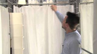 IKEA Small Spaces - Squeezing a small laundry room into a small bathroom