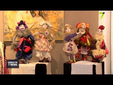 Новости 7 канал Одесса: Баламуты и сорочки: в Одессе открыли выставку народных костюмов