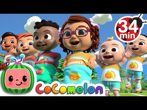 Field Day Song + More Nursery Rhymes & Kids Songs - CoComelon