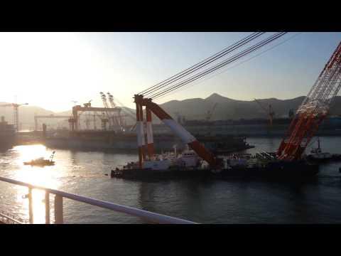 Dsme.. largest ship yard in South Korea. ..
