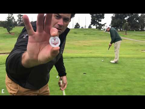 PLAYING GOLF  w TOUR PRO TURNED INVENTOR BERTIE CORDLE BE BETTER GOLF VLOG