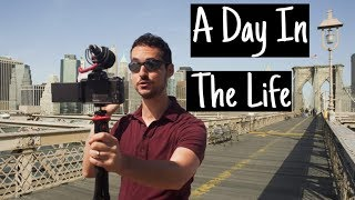A Day in the Life of an NYC Vlogger ! (How Hard Is It ?)