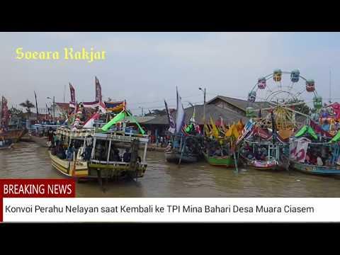 Kemeriahan Syukuran Nelayan, Ruat Laut Warga Desa Muara Yang Menjadi Ikon Wisata
