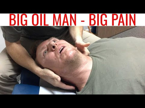 ROAD RAGE & SCIATICA driven away with SINGLE NECK ADJUSTMENT