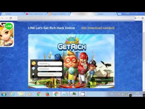 Hack LIne GETRICH ONLINE || WORK OR NOT WORK ??