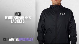 Fox Men Windbreakers Jackets [Winter 2018 ]: Fox Men's Attacker Windbreaker, Black, L