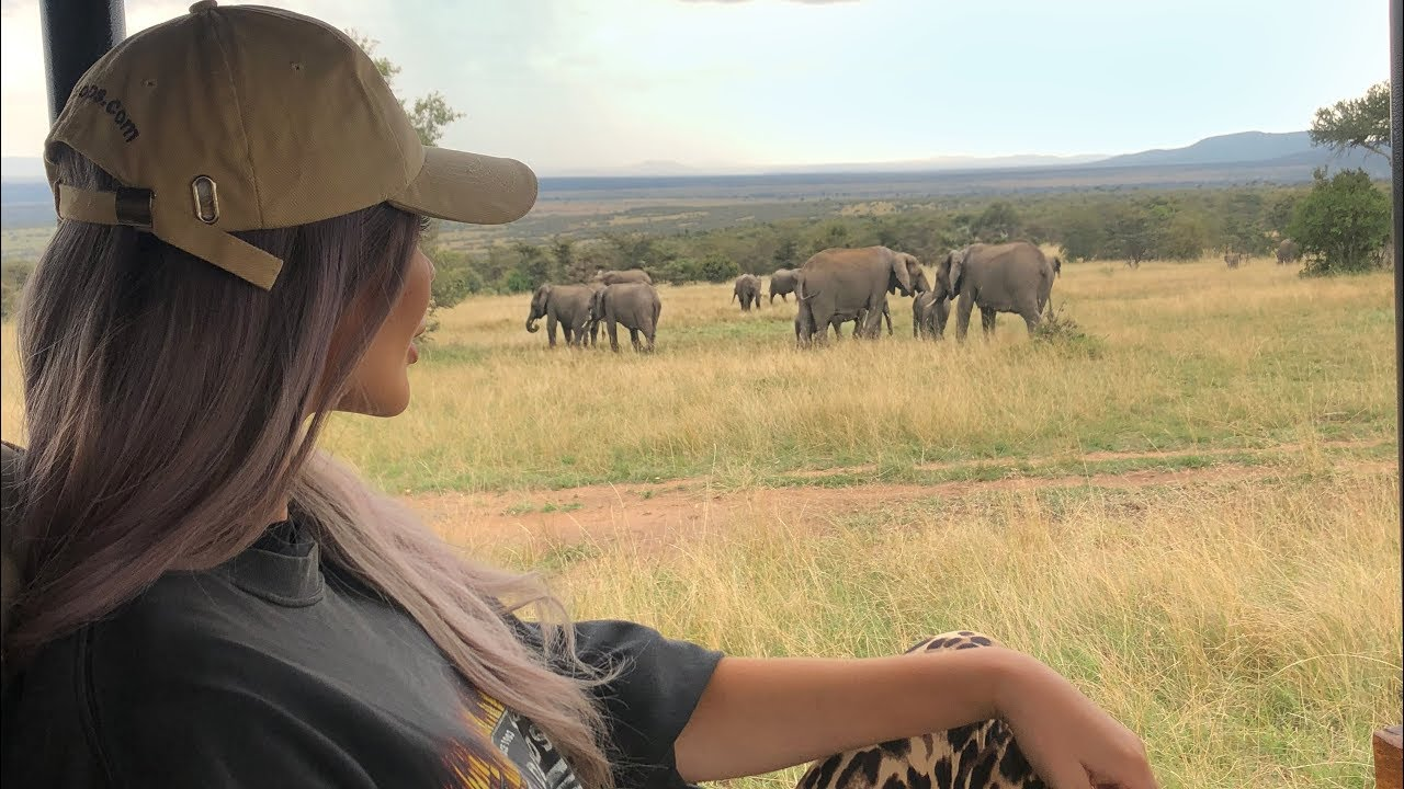 KENYA SAFARI WITH YSL | Everything you need to know about Masai Mara Bush Tops!