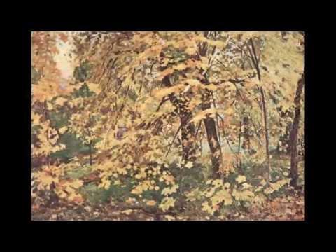 Русский художник Остроухов Илья Семенович (1858-1929)