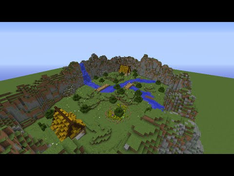 Minecraft Lets Build: Simple Kit PvP Map on
