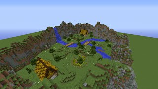 Minecraft Lets Build: Simple Kit PvP Map