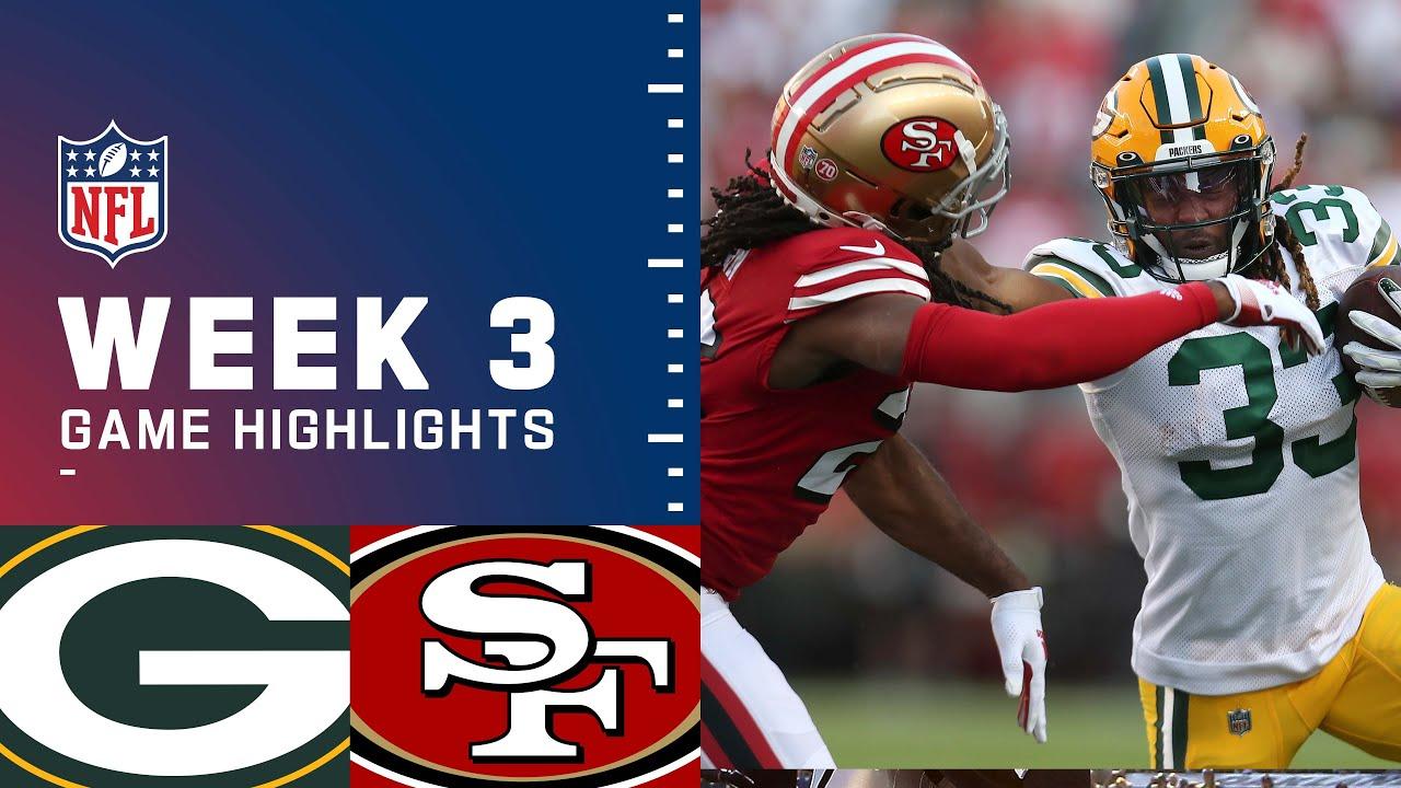 Download Packers vs. 49ers Week 3 Highlights | NFL 2021