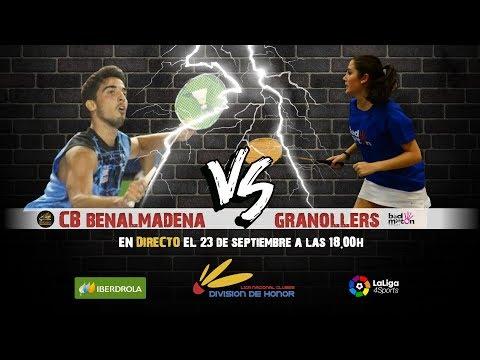 LigaDH J2   CB Benalmádena - Granollers