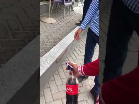 New invention - this guy uses Coca-Cola to kill flies - see the video