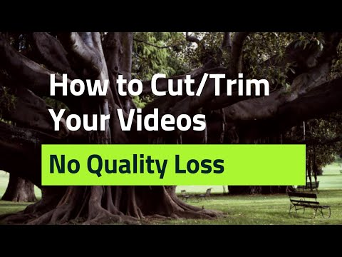 How To Cut And Trim Video | 4K MP4 Video Cutter