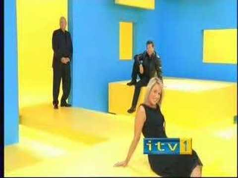 ITV Advert (1 Oct 03) Pose 1 - Pete Waterman, Nicki Chapman