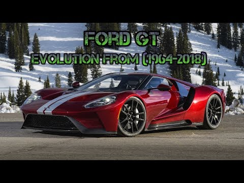 Ford Gt Evolution From