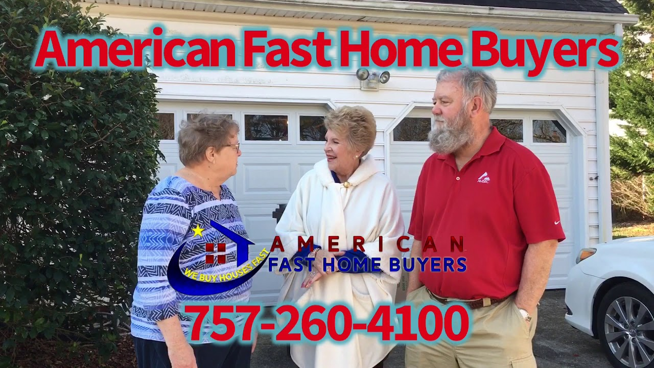 Happy Chesapeake home owners helped by American Fast Home Buyers