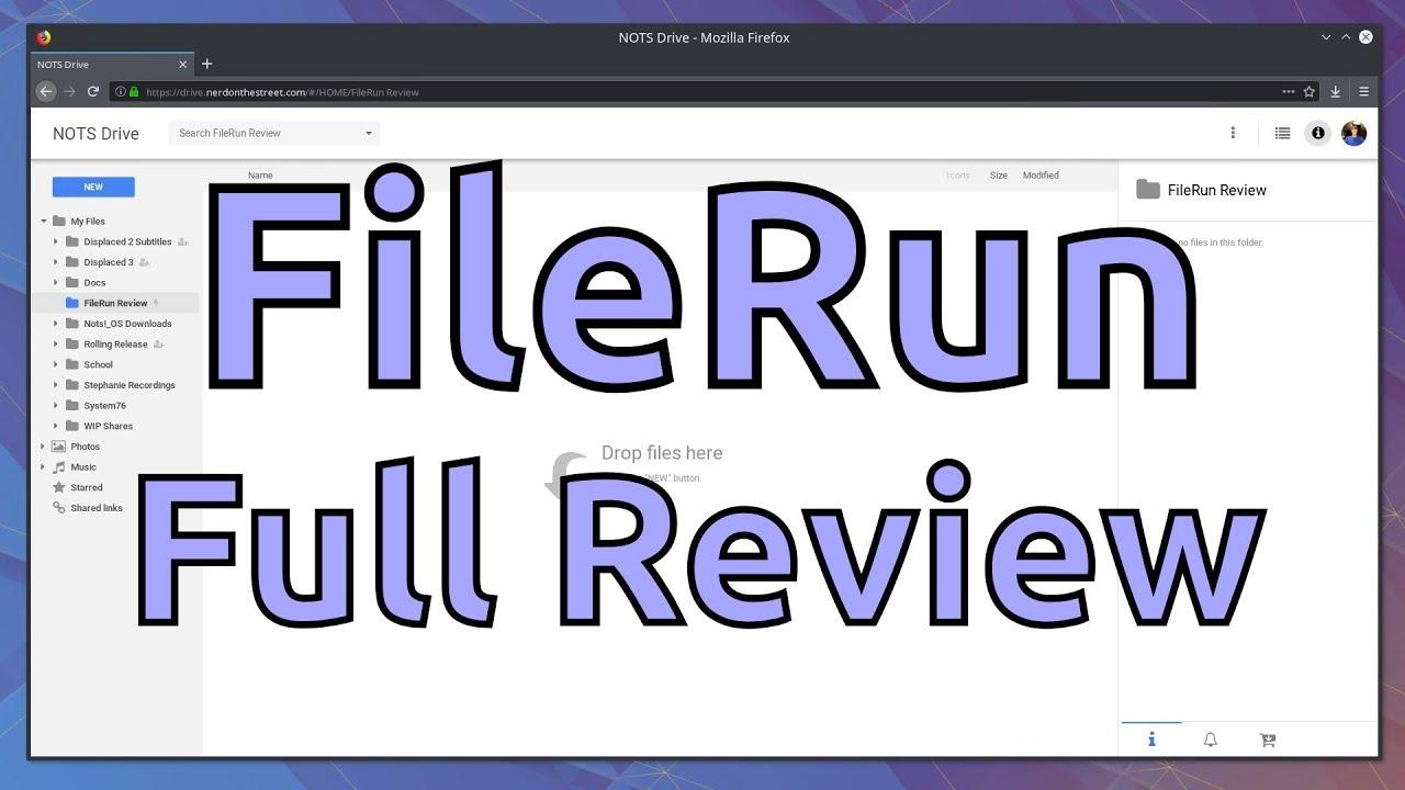 FileRun Review